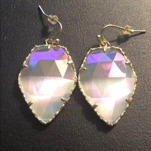 Kendra Scott Iridescent Slate Corley Earrings